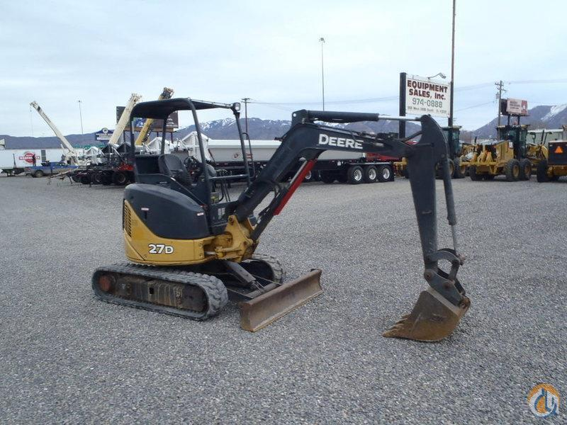 2007 DEERE 27D Mini DEERE 27D Equipment Sales Inc. 18194 on CraneNetwork.com